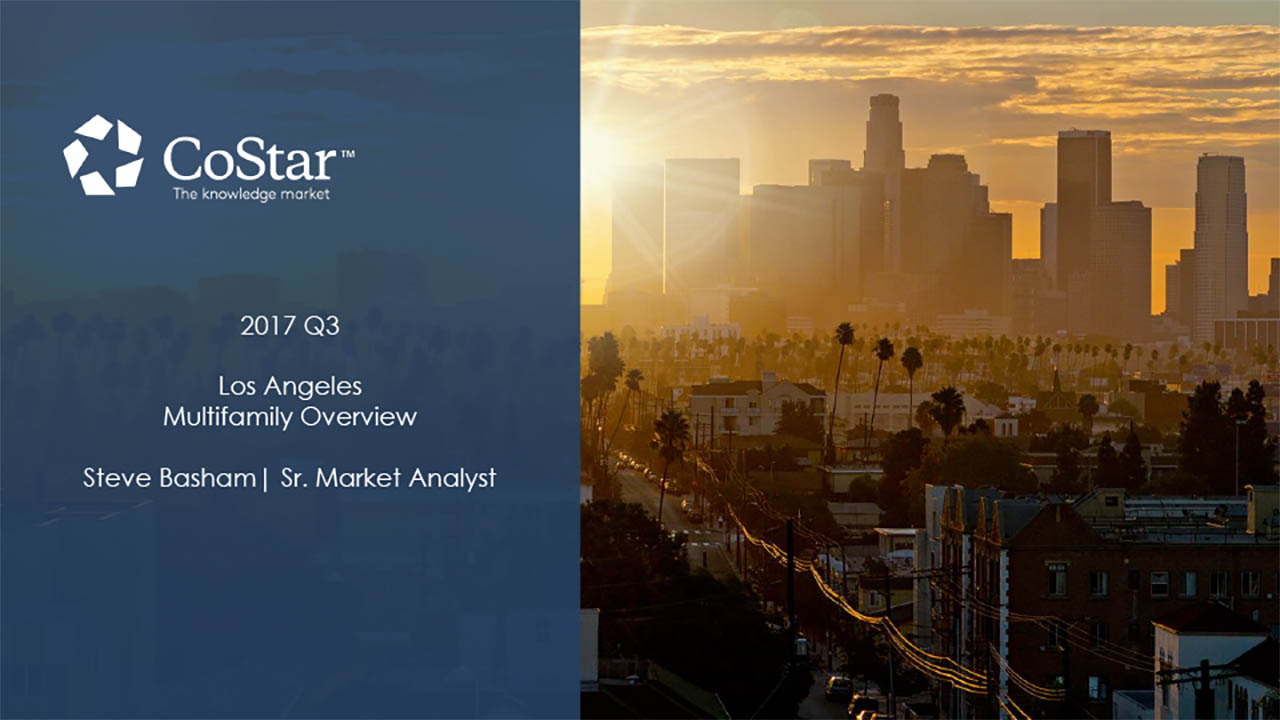 CoStar's 2017 Mid-Year Los Angeles Multi-Family Overview